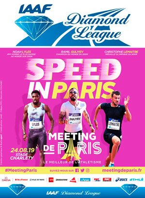 IAAF Diamond League Athletics 2019 Paris